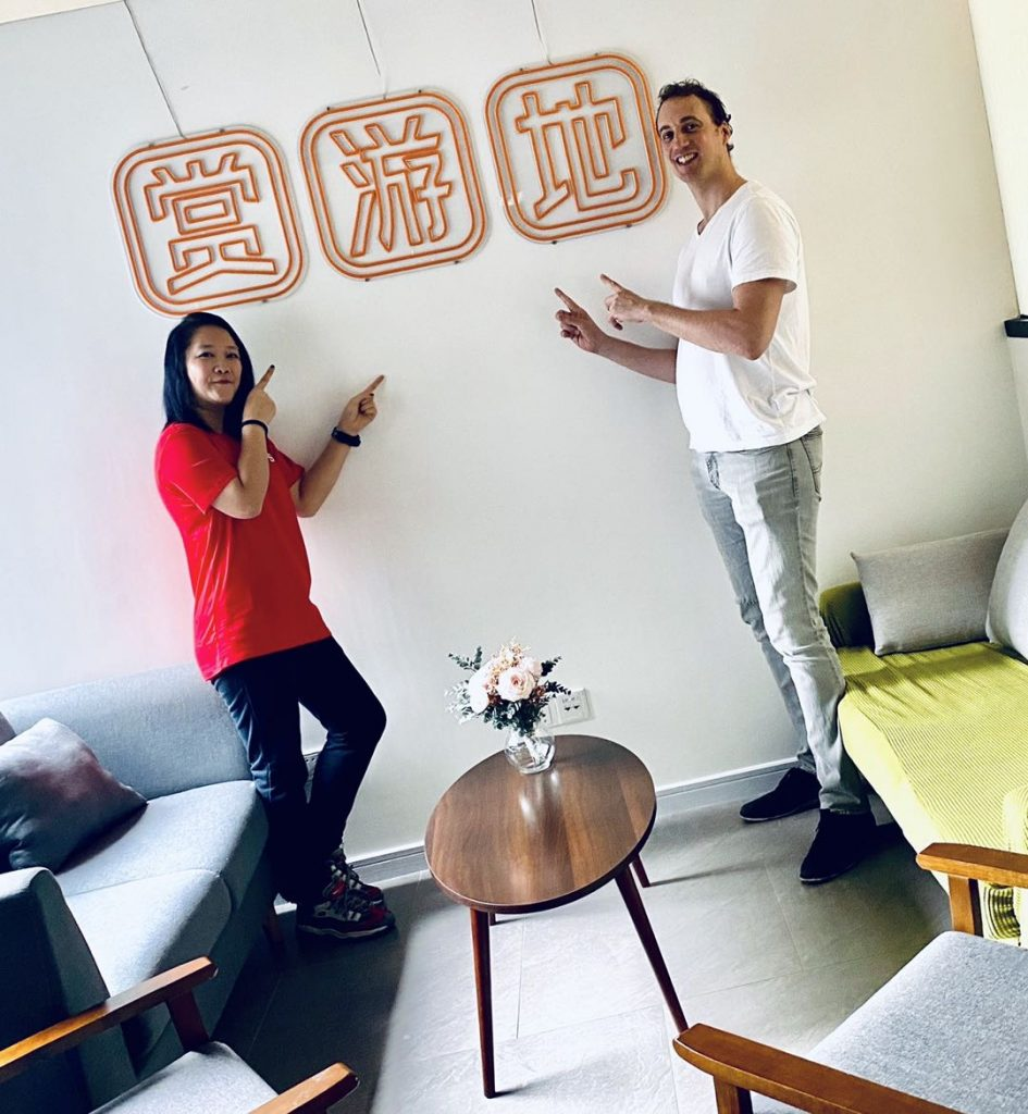 Emily Cheung & Simon de Raadt (host of China Business Cast)
